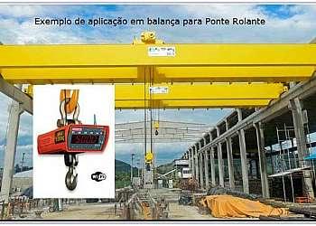 Balança ponte rolante
