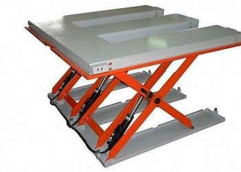 Balança industrial plataforma